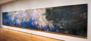 Monet, Reflections of Clouds on the Water-Lily Pond, 1920