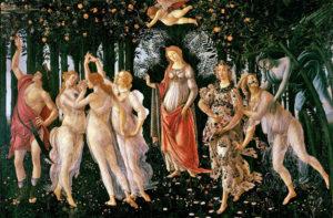 """Botticelli, """"La Primavera"""""""