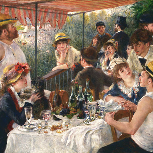 "Renoir's ""Luncheon of the Boating Party"""
