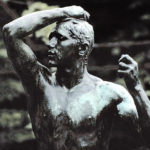 Auguste Rodin, The Age of Bronze, detail