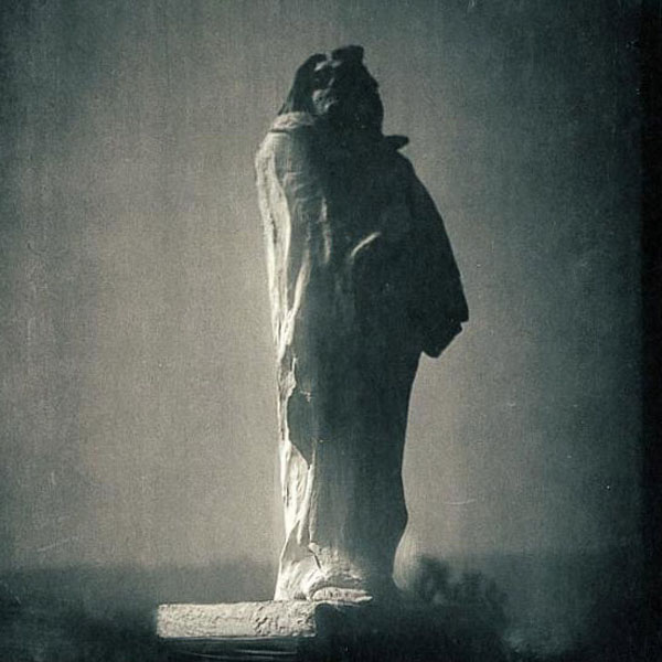 Steichen photo of Rodin's Monument to Balzac