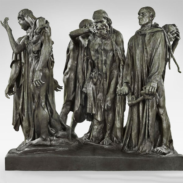 Rodin, Burghers of Calais