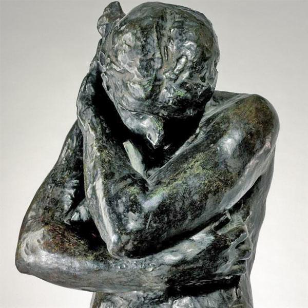 Rodin, Eve, detail
