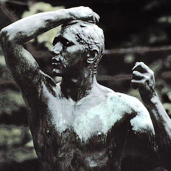 Rodin, The Age of Bronze, detail