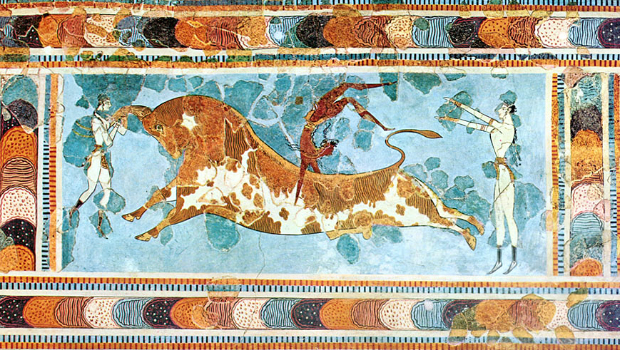 The Bull-Leaping Fresco from Knossos