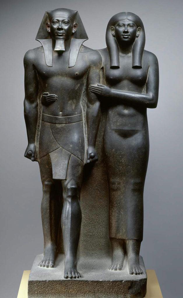 King Mycerinus and His Queen