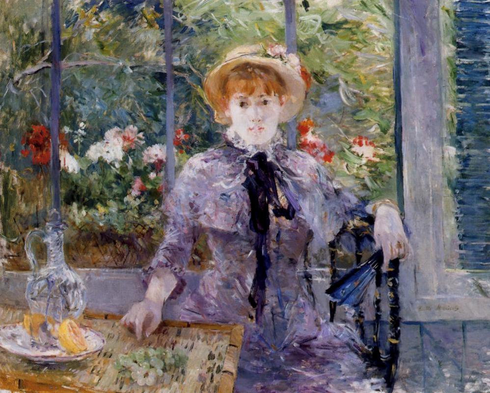 Berthe-Morisot-After-Luncheon-1881