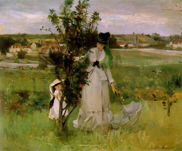 Berthe Morisot - Hide and Seek, 1873