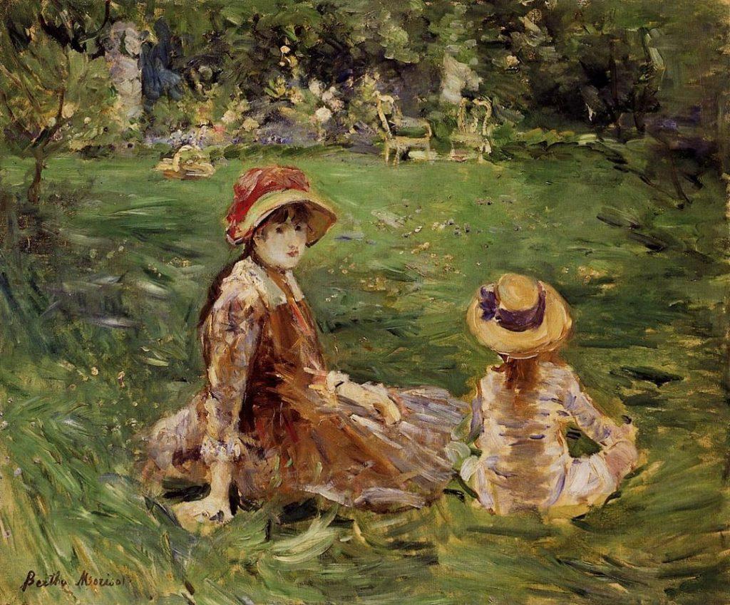 Berthe-Morisot-In-the-Garden-at-Maurecourt-1884