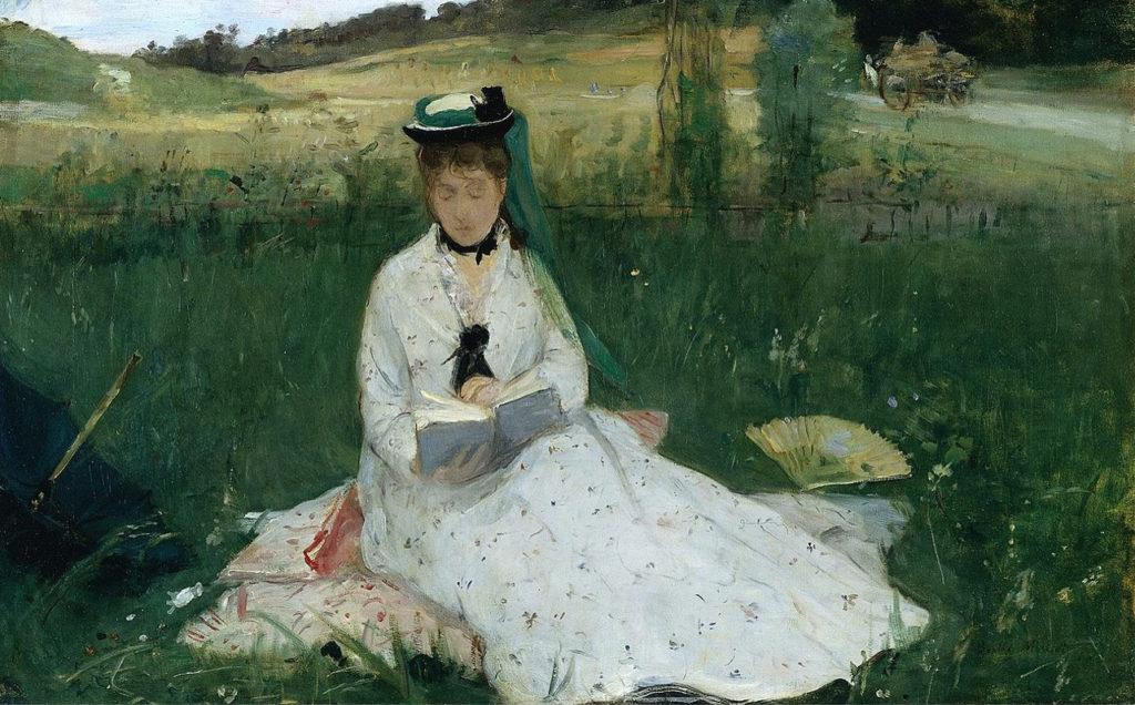Berthe Morisot: Reading, 1873