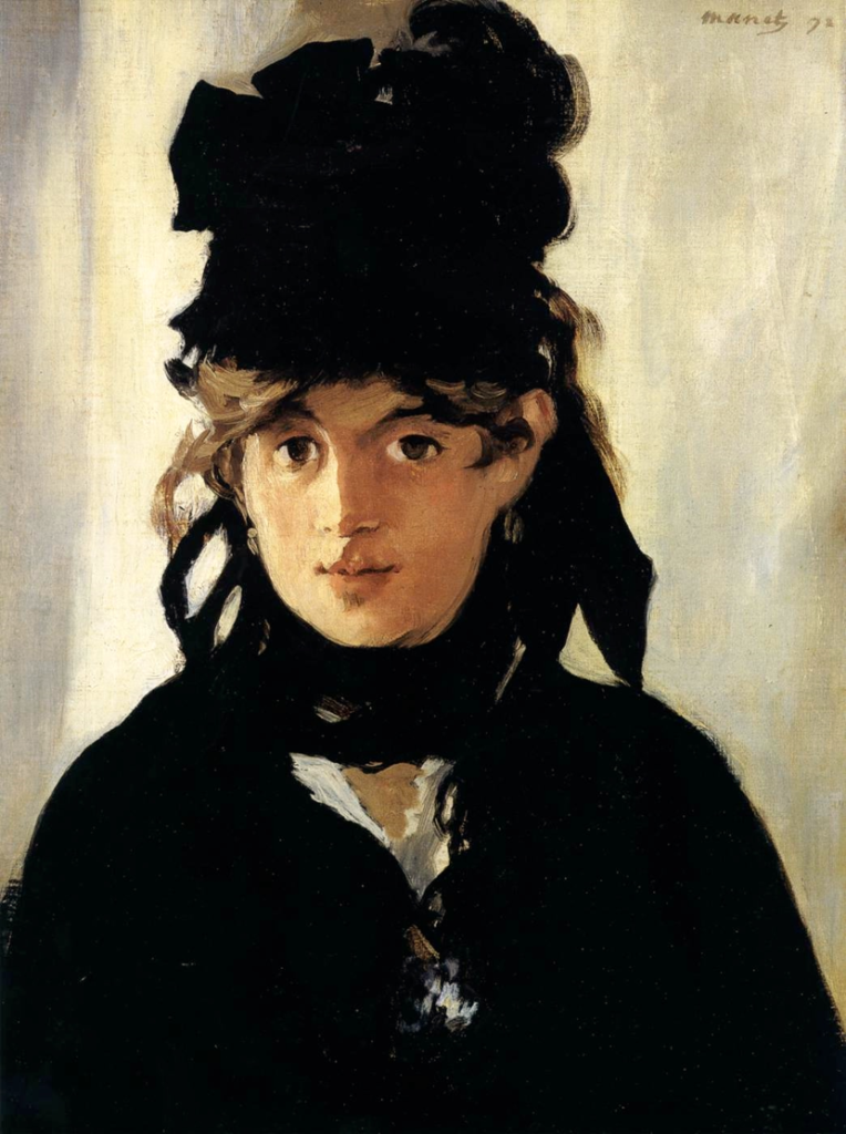 Edouard Manet-Berthe Morisot with a Bouquet of Violets, 1872