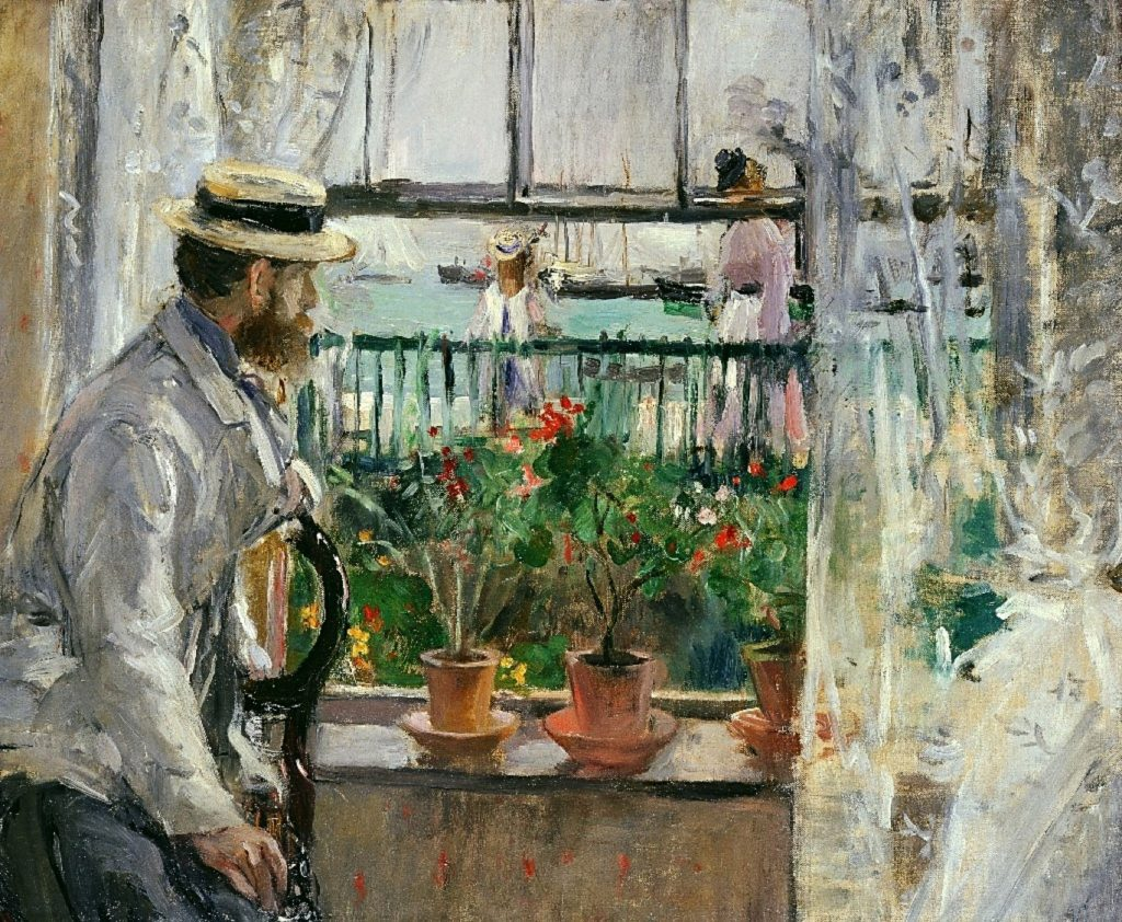 Berthe-Morisot-Eugene-Manet-on-the-Isle-of-Wight-1875